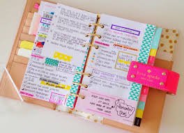 Blog post 4 - (pic 5 - pink planner)