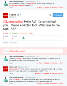 @Staples Twitter Chat