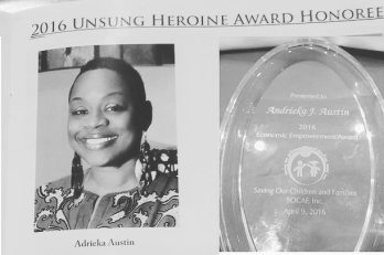 b.w 2016 Unsung Heroing Award and Profile Picture