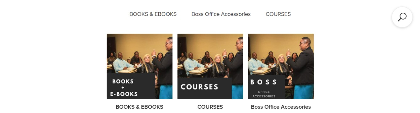 Andrieka J. Austin - The Boss of ME Onine Courses for Coaches