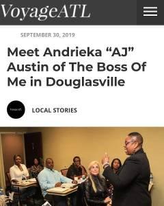 Andrieka J Austin Voyage ATL