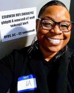 Andrieka J. Austin - Speaking for Newbies